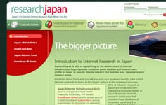 ResearchJapan - japan's on-demand internet research